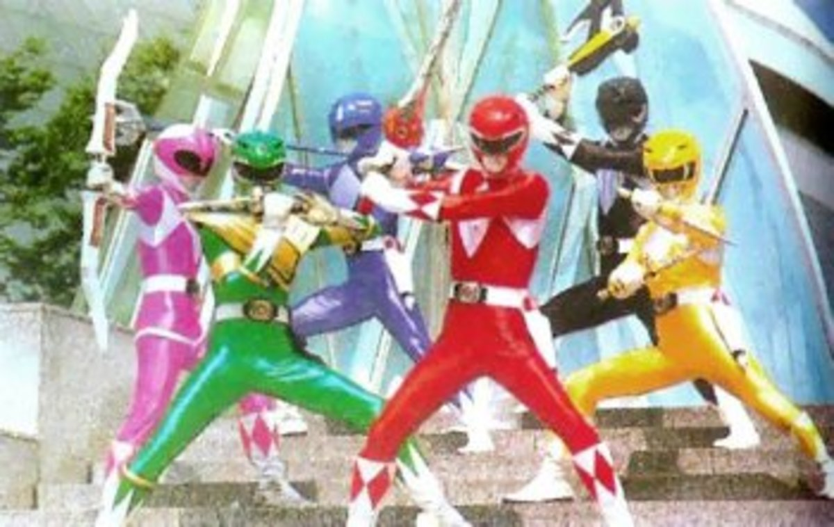 Introduction to Tokusatsu: Super Sentai Part 1