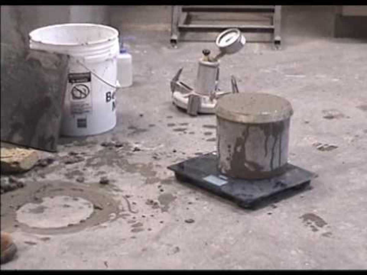 ASTM C138: Unit Weight, Yield, and Gravimetric Air Content of Concrete