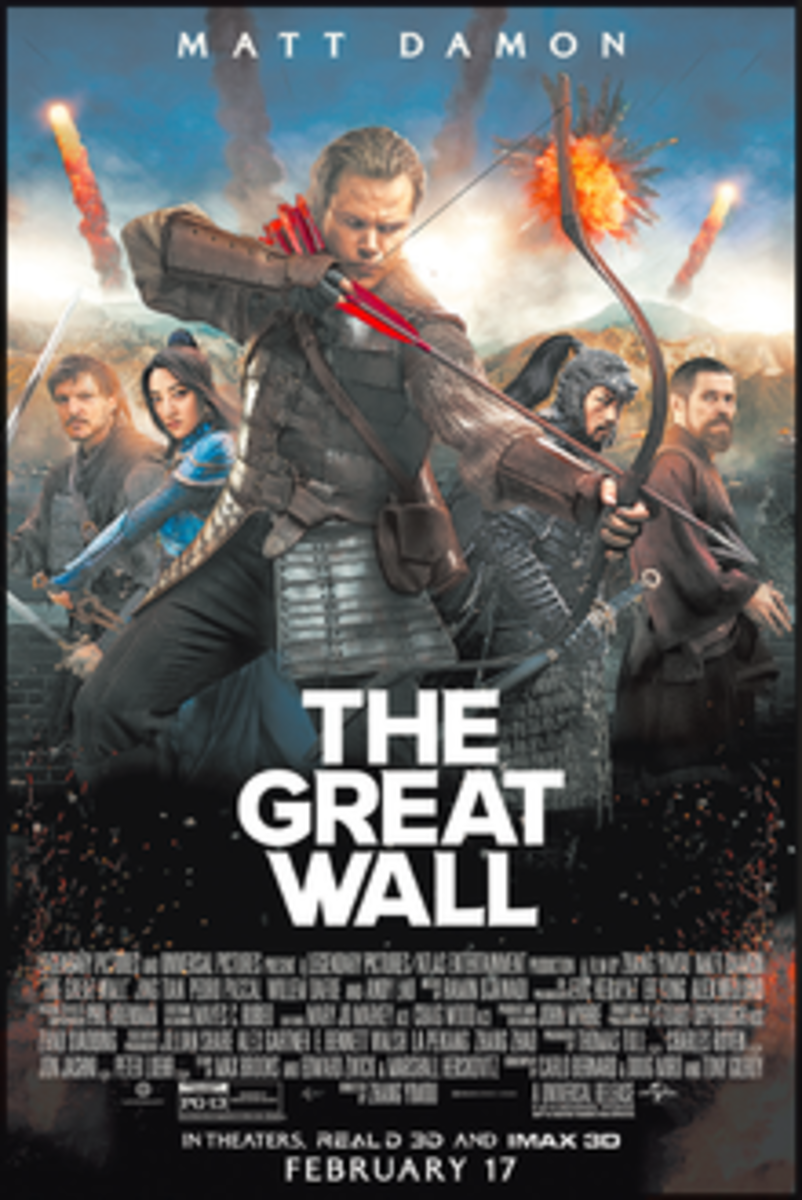 'The Great Wall' US Theatrical Release Poster