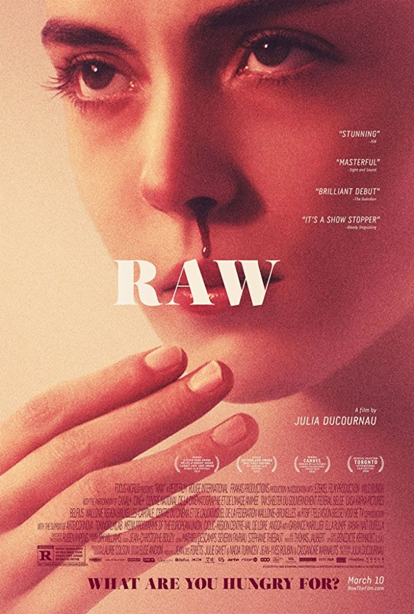 Movie poster for Raw (2016)