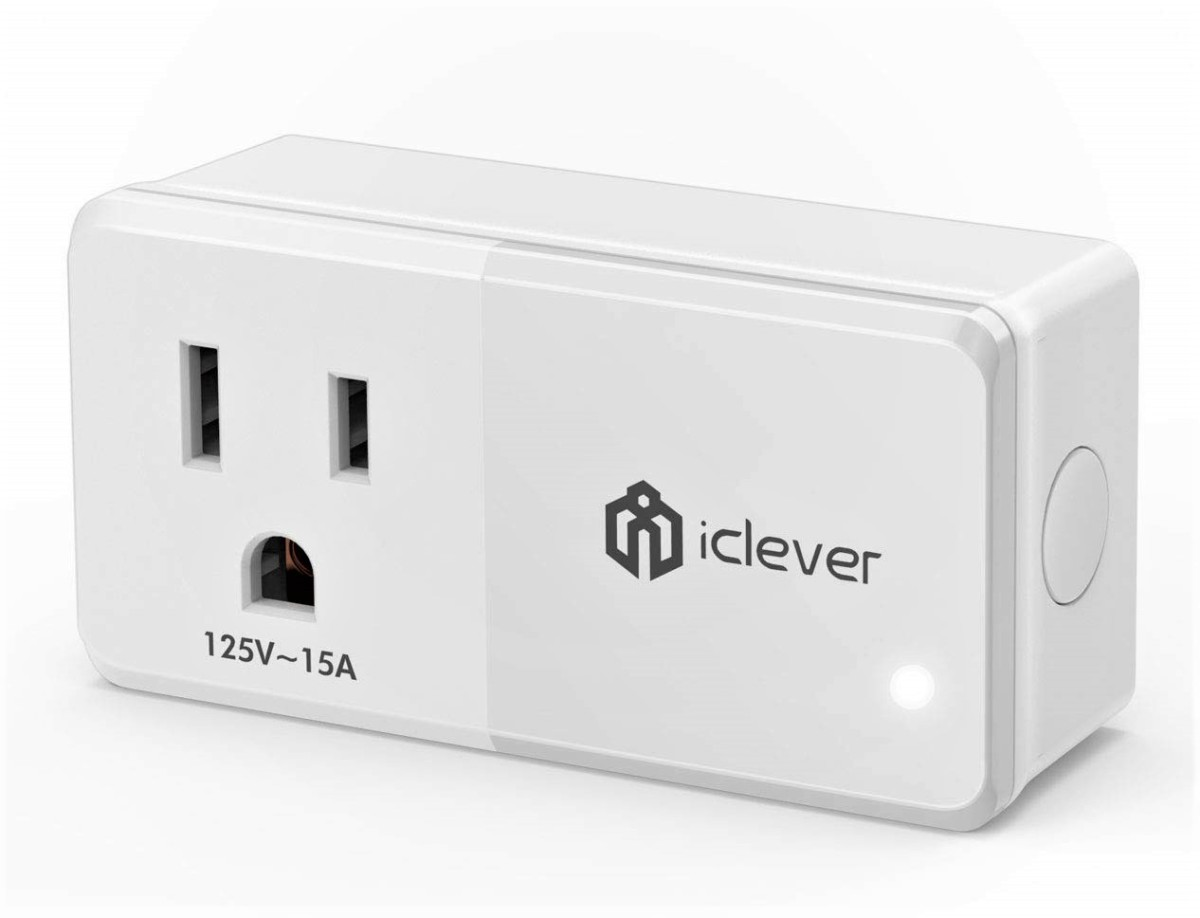 Review of iClever AC Smart Plug & Dual USB Charger (Works With Alexa & Google Assistant)