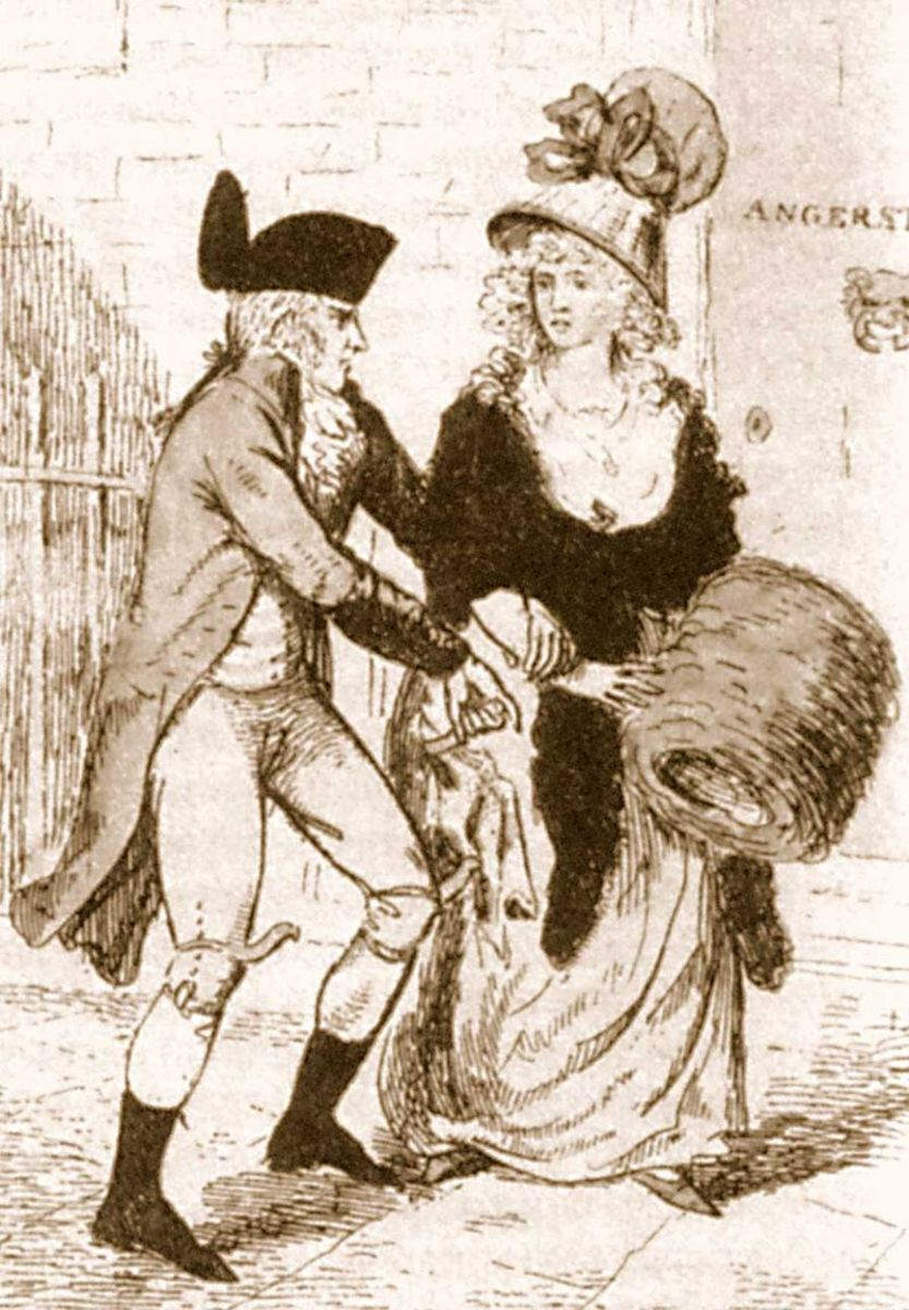 The Eighteenth Century London Monster