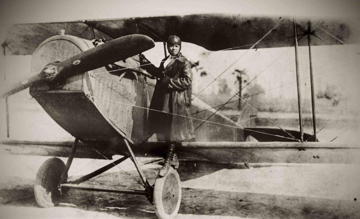Bessie Coleman: The First Female African-American to Become a Licensed Pilot