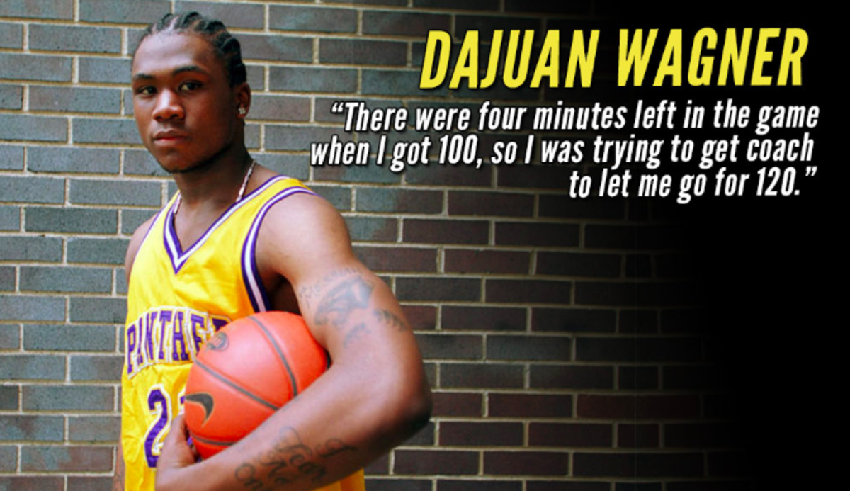 Dajuan Wagner on his 100-point game