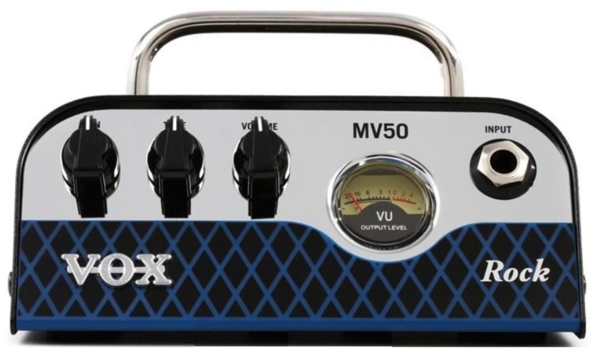 Product Review: Vox MV50 Rock 50-watt Hybrid Tube Head
