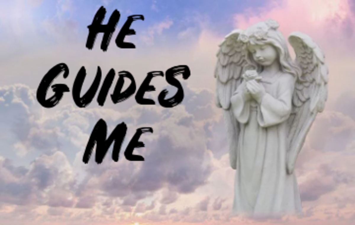 he-guides-me