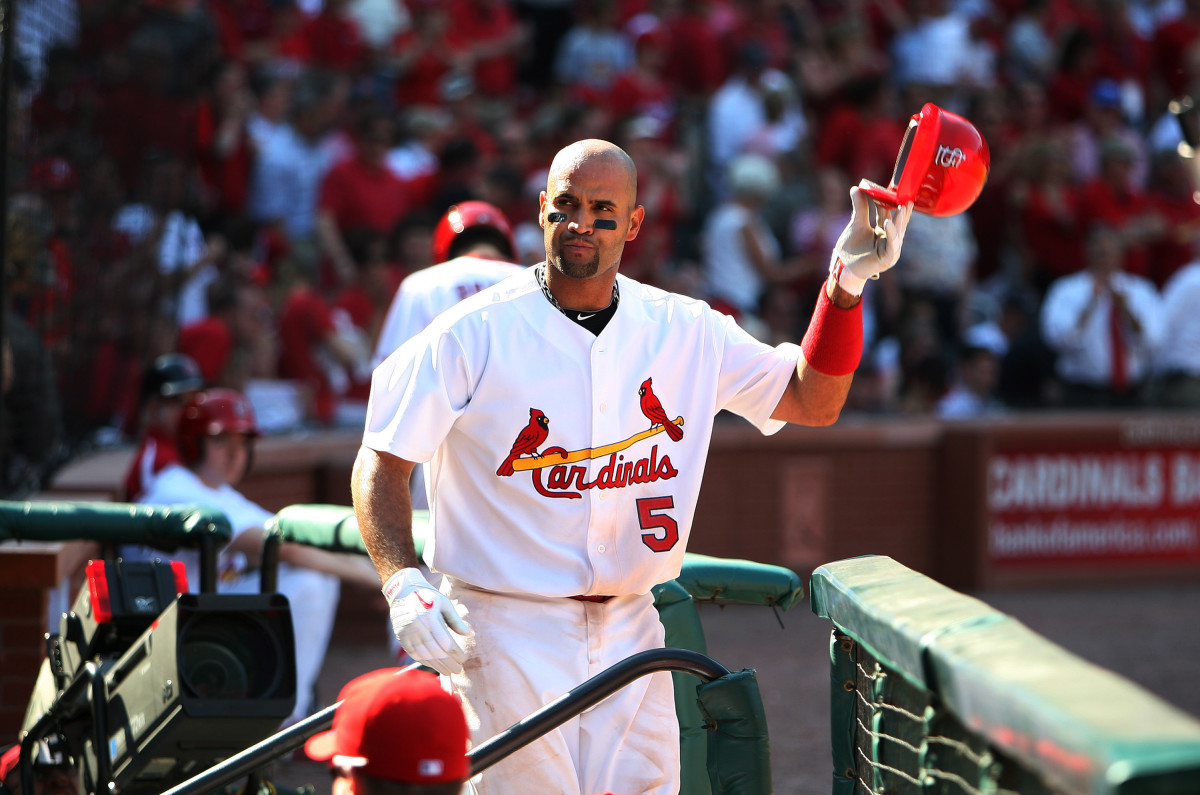 Albert Pujols Is Finally Coming Back to Busch Stadium!