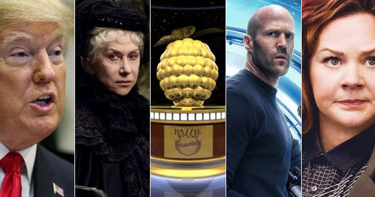 My Thoughts on the 2019 Razzie Award Nominees