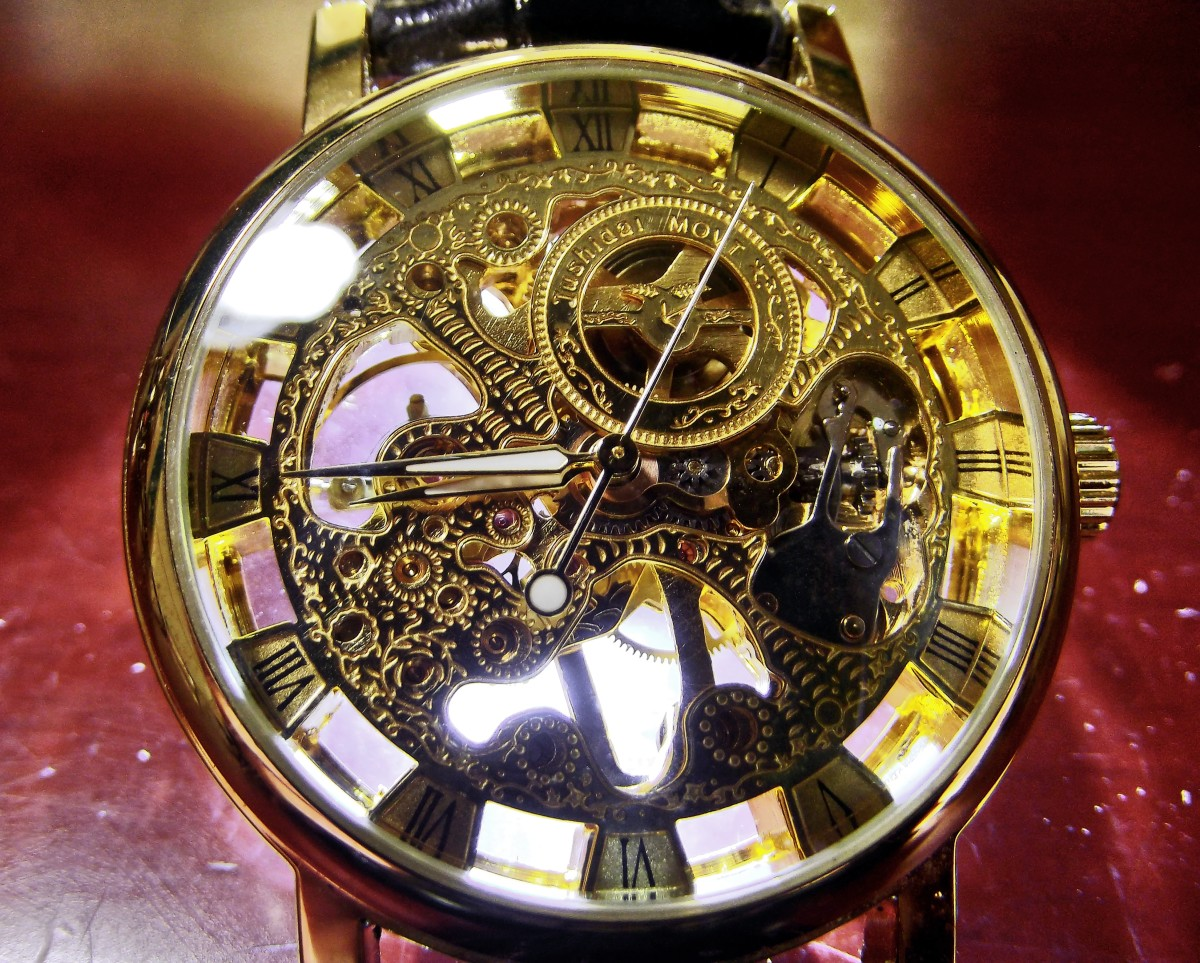 Sandwood Jushidai Mechanical Watch