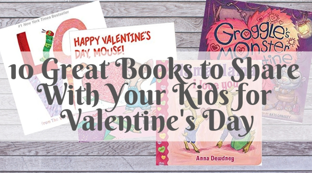 10 Great Books to Share With Your Kids for Valentine's Day