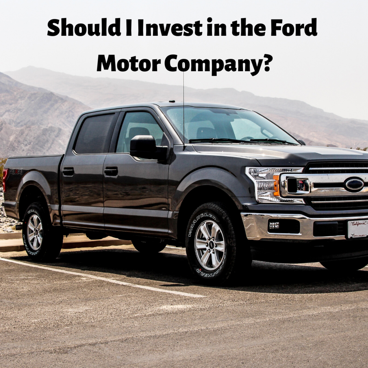 Should I Invest in Shares in the Ford Motor Company?