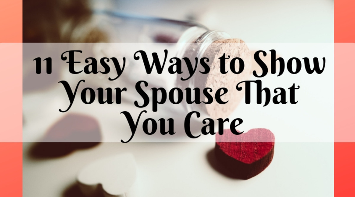11 Easy Ways to Show Your Spouse That You Care
