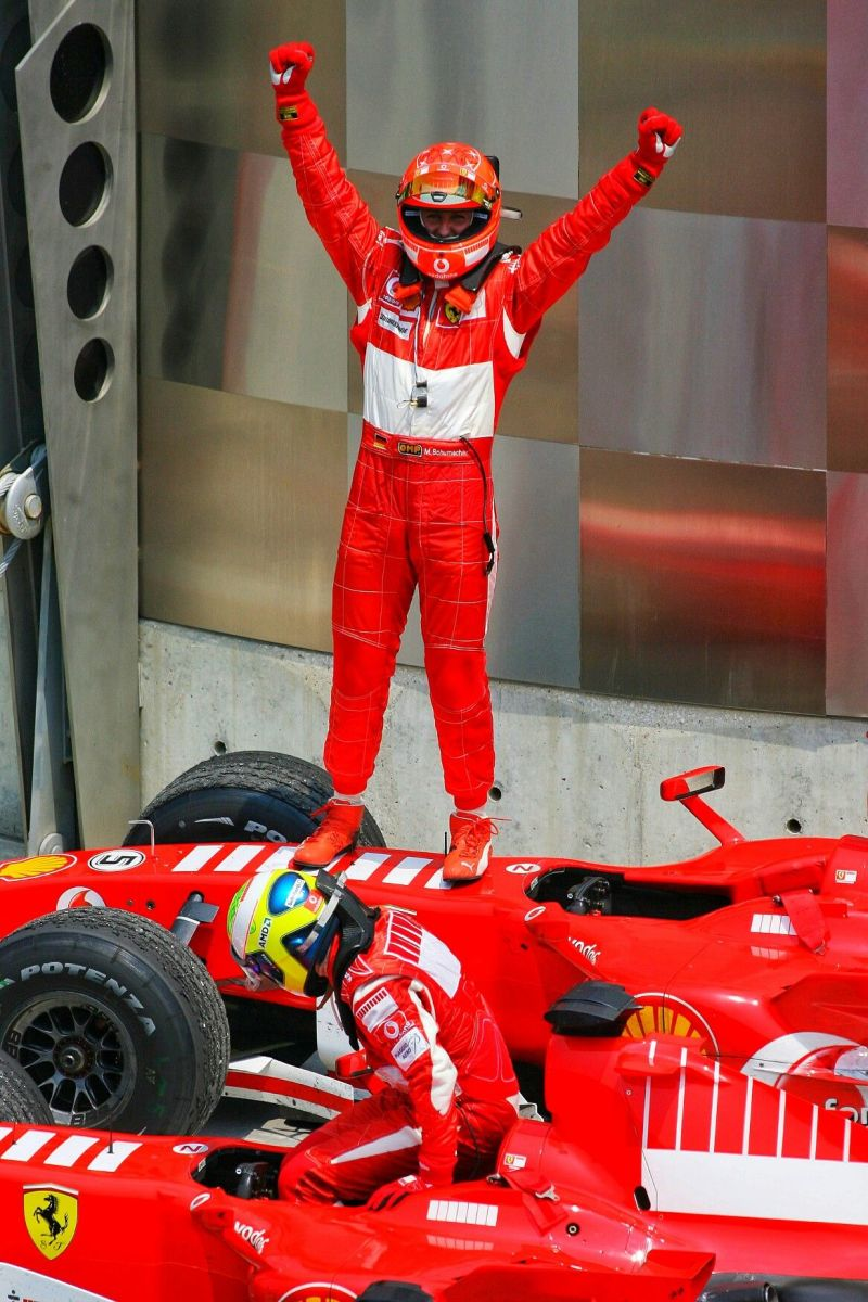 The 2000 United States GP: Michael Schumacher's 42nd Career Win