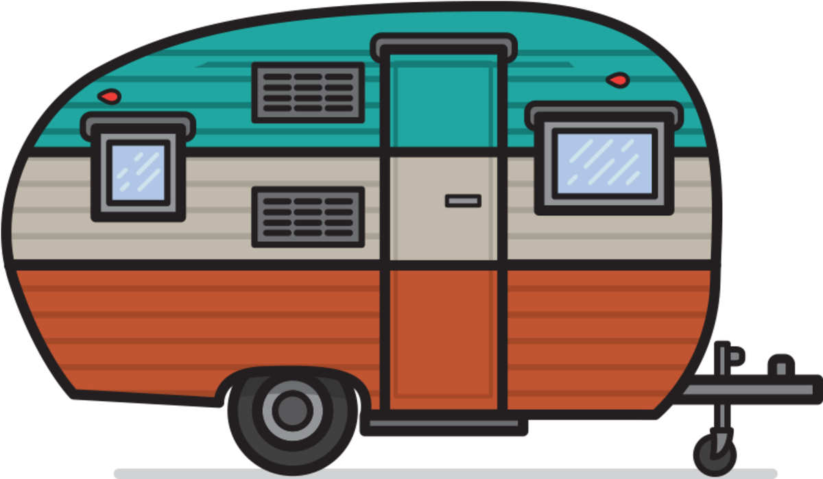 Camping in a Campground: The Snapshot of Simple Life