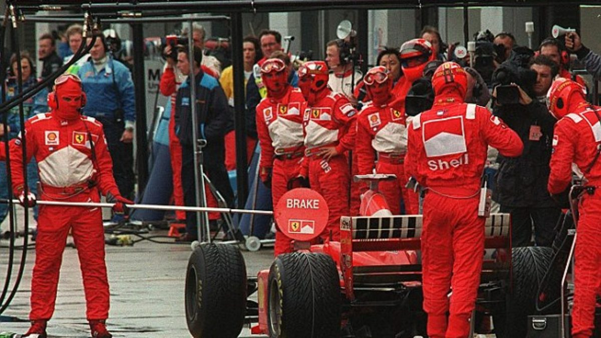 The 1998 British GP: Michael Schumacher's 31st Career Win