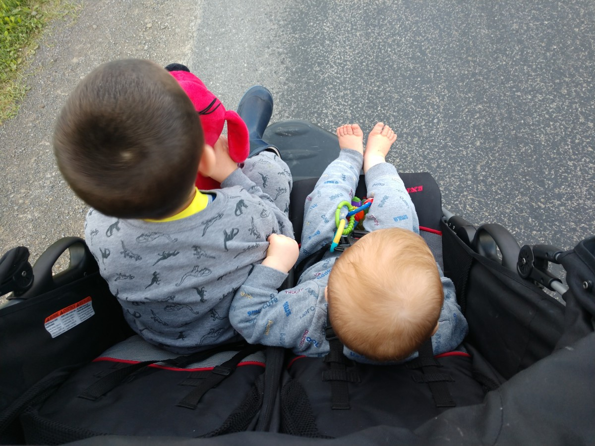 I love taking my kids for walks after work/school, and the anticipation of getting to walk after work drives me all day as a reward awaiting me at home.