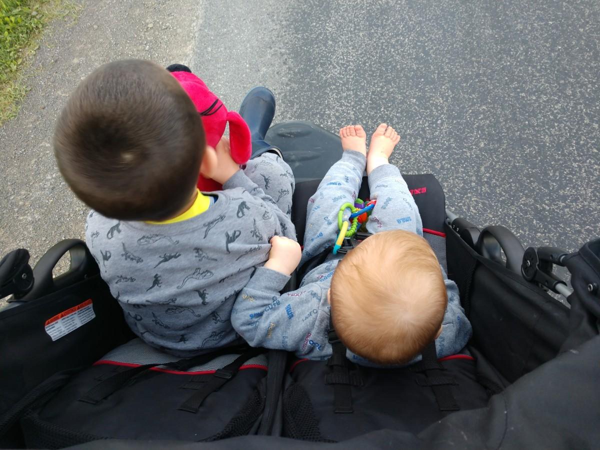我喜欢在下班或放学后带我的孩子去散步,而对下班后散步的期待驱使着我一整天都在家里等着我。