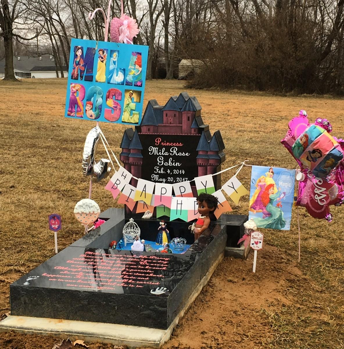 Happy 5th Birthday in Heaven, Mila Rose.