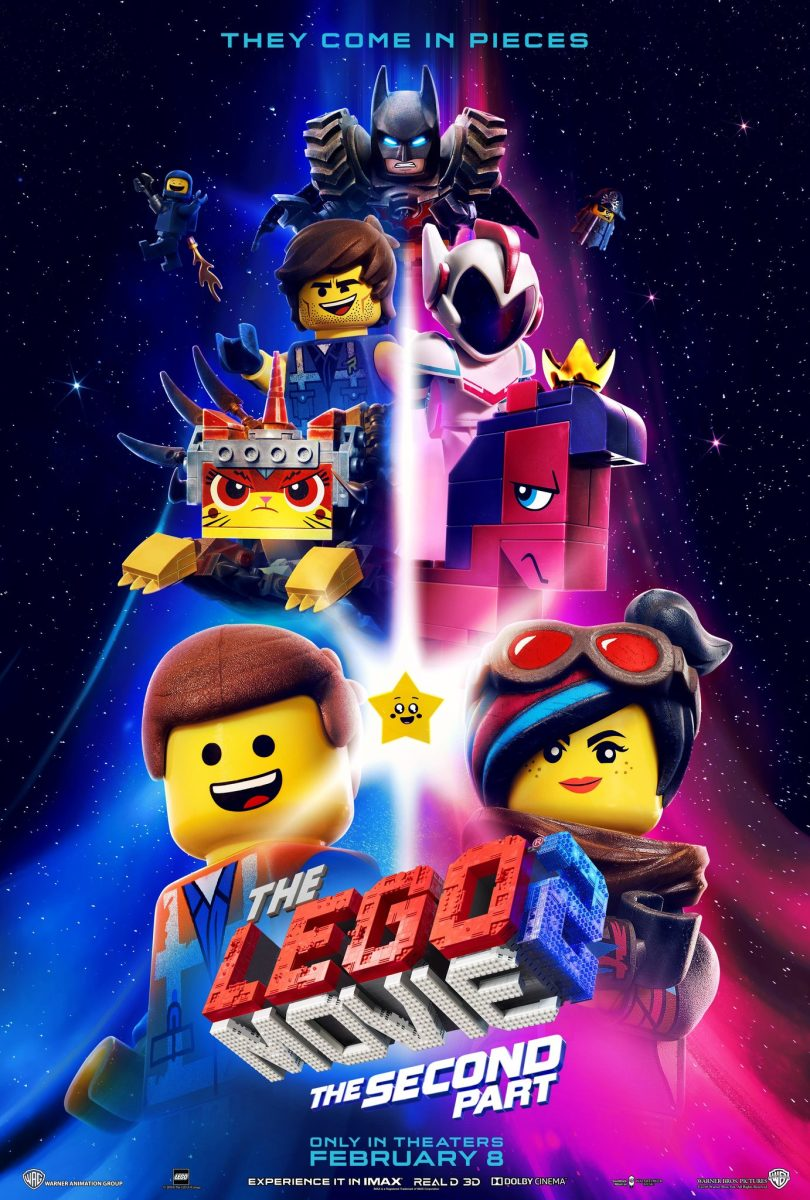 "The official one-sheet theatrical poster for, ""The Lego Movie 2: The Second Part."""