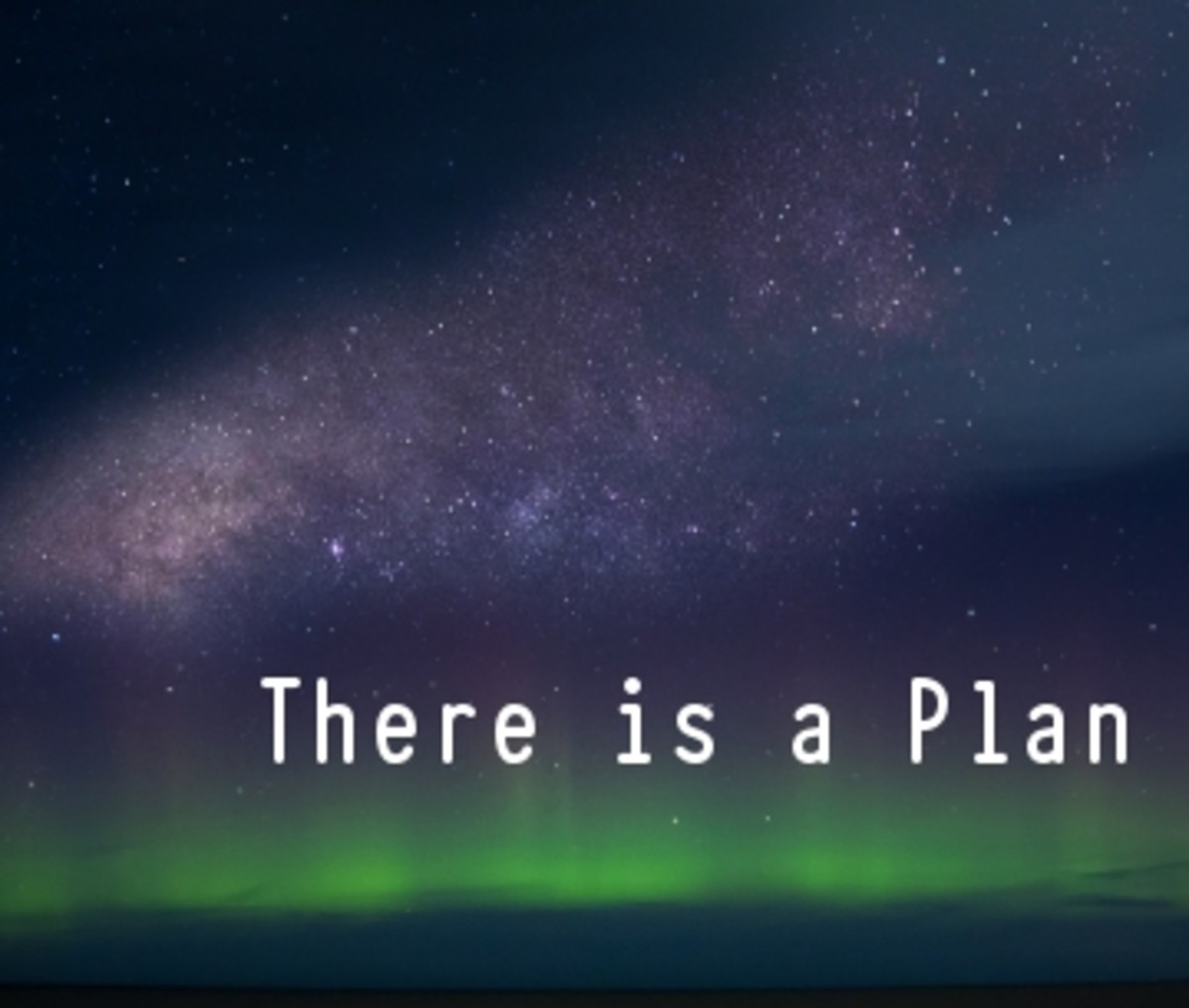 Poem: There Is a Plan