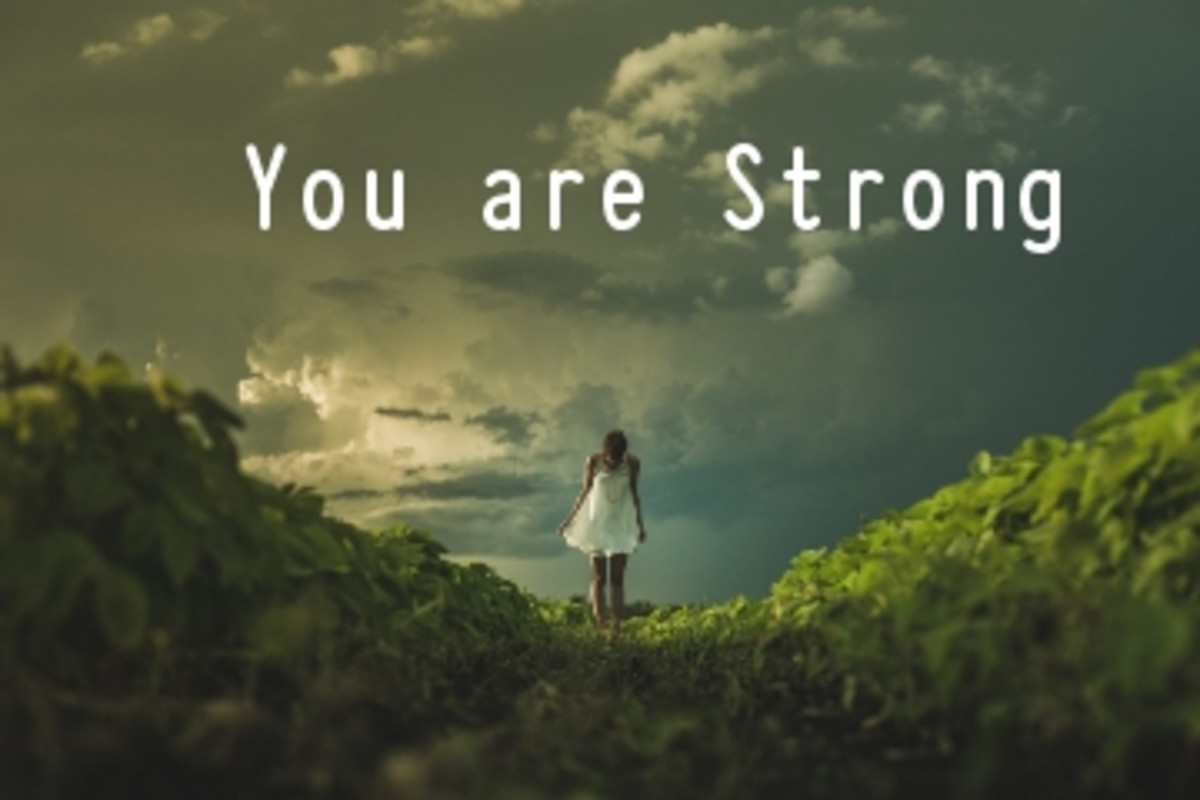 Poem:  You are Strong