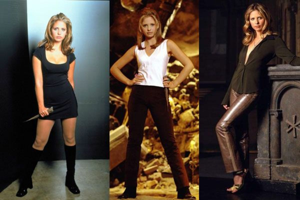 "Buffy's Top Ten Outfits From ""Buffy the Vampire Slayer"""