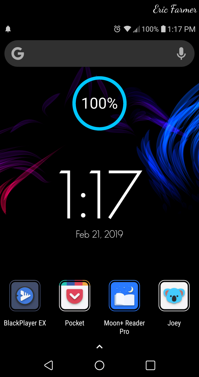 My current Android Homescreen.