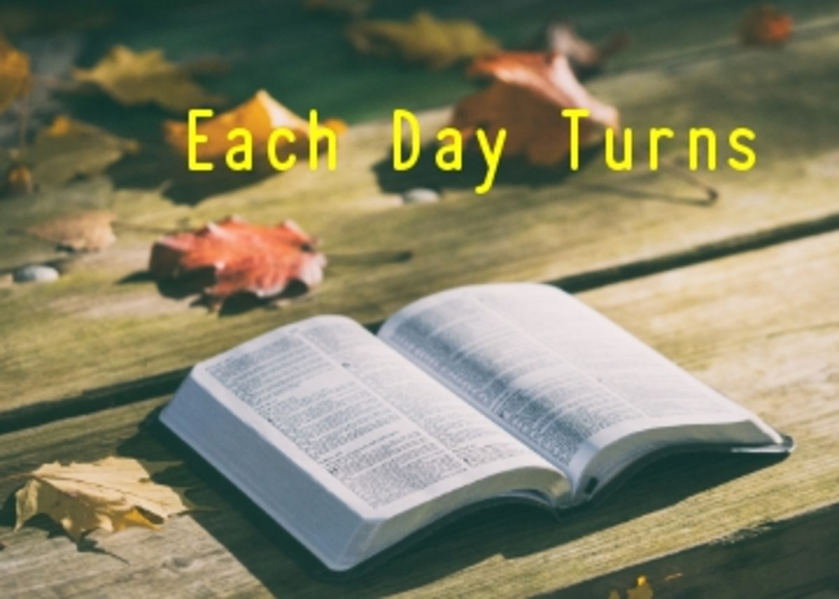 Poem:  Each Day Turns