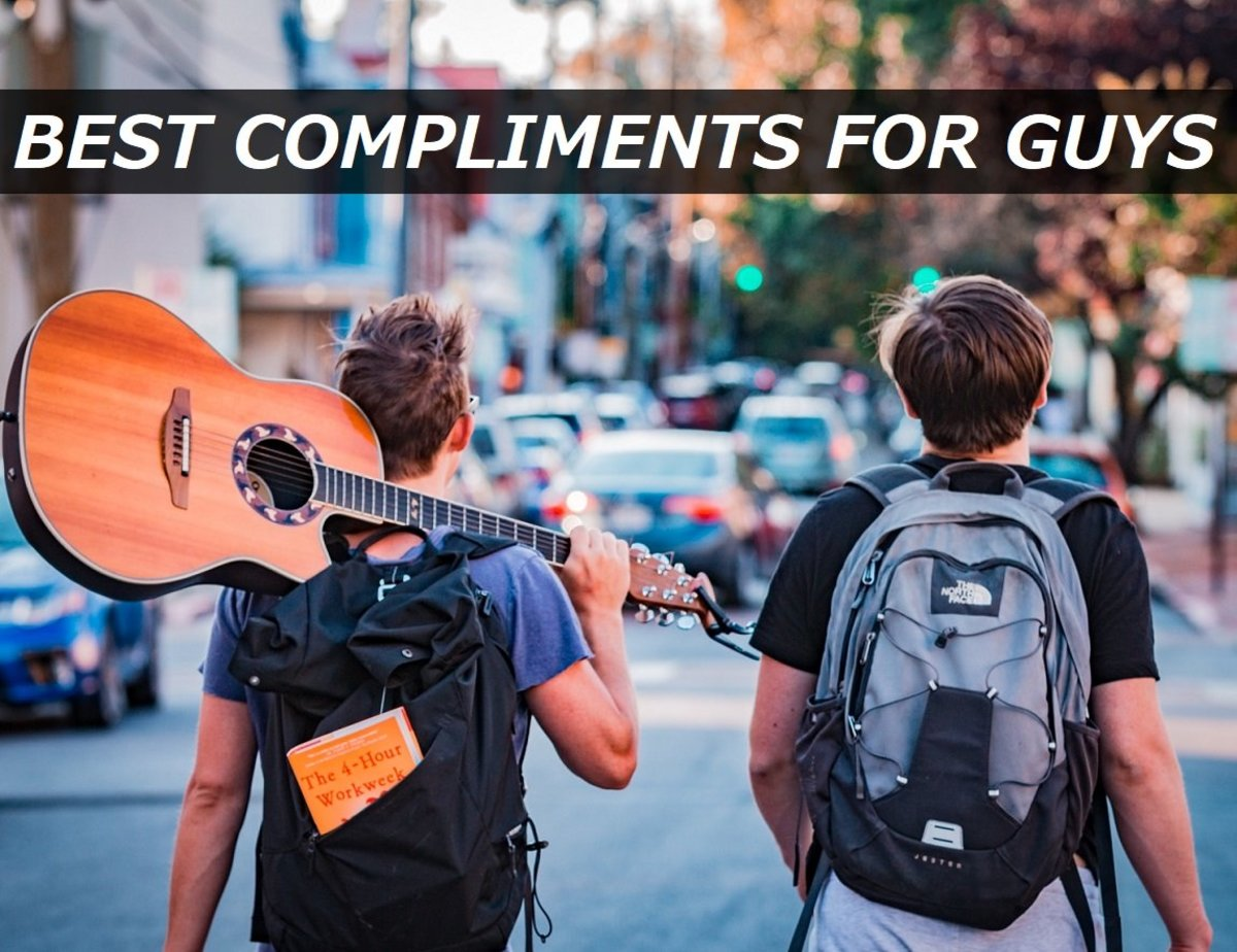 200+ Best Compliments for Guys