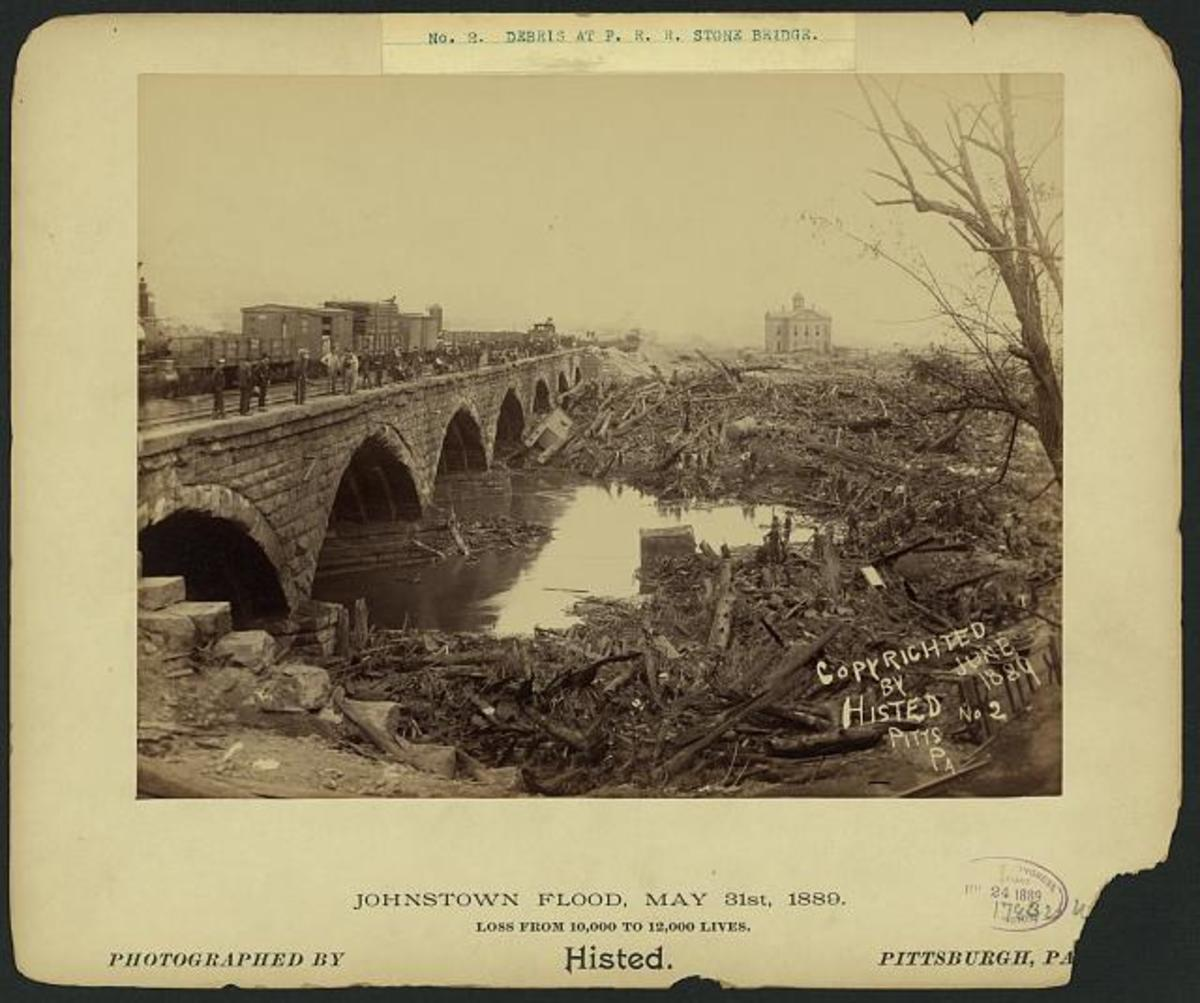 The Disastrous Flood of Johnstown Pa 1889