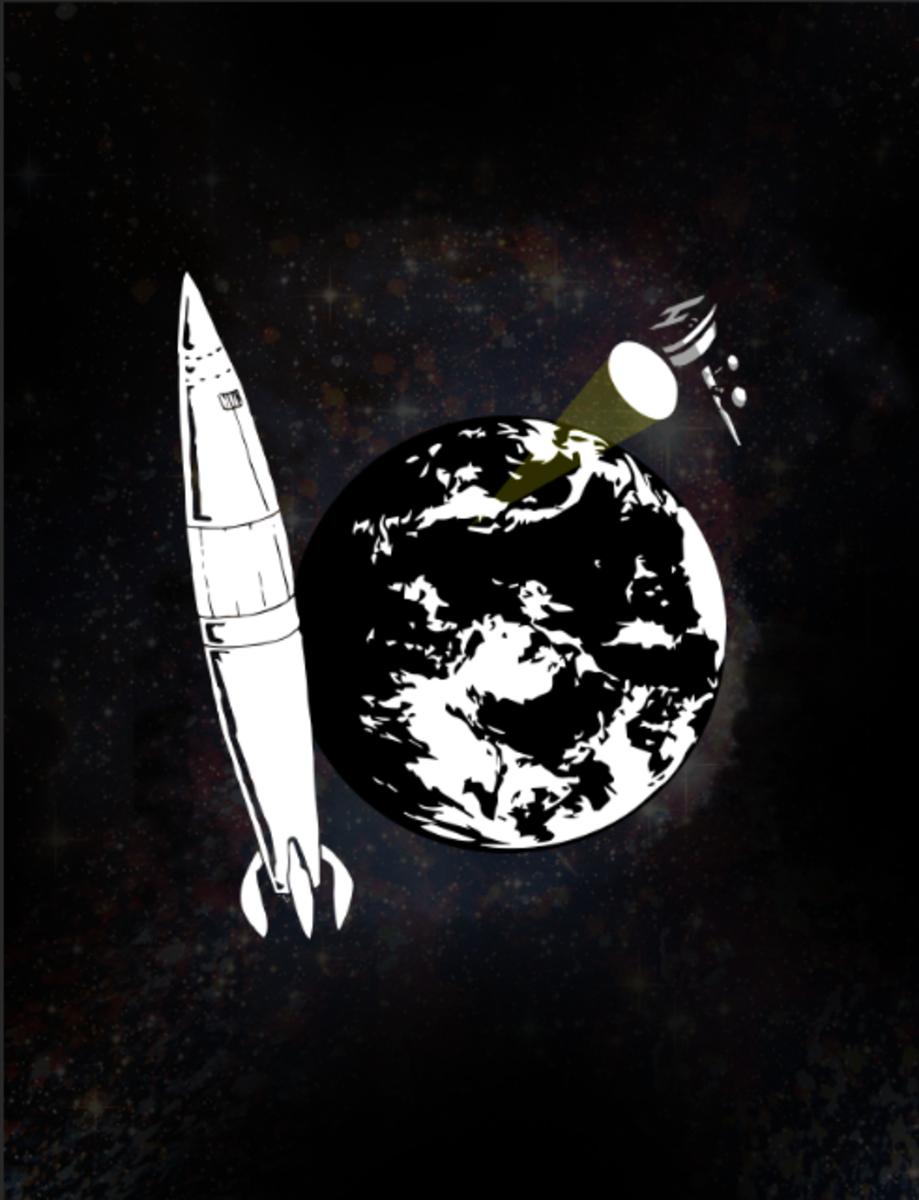 The Nazi Sun Gun - An Orbital Weapons Platform