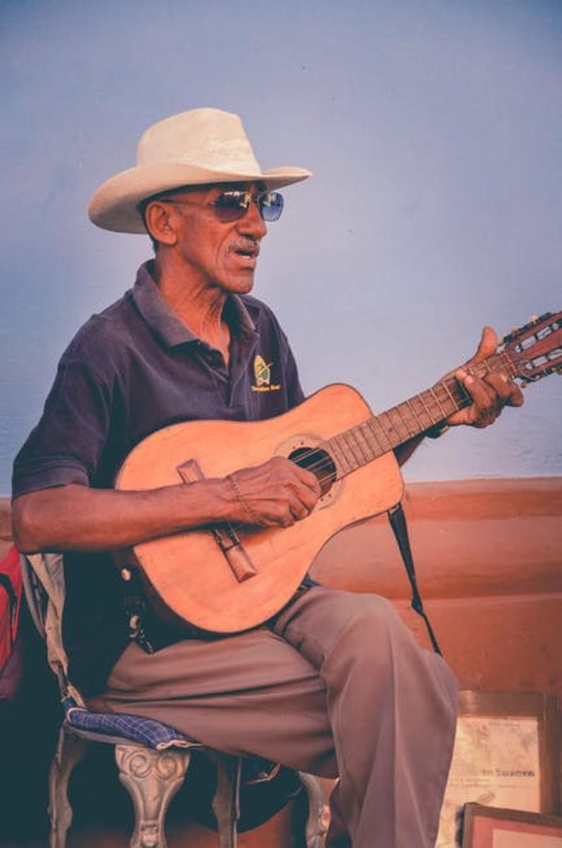 The Lonesome Guitarist' Solo