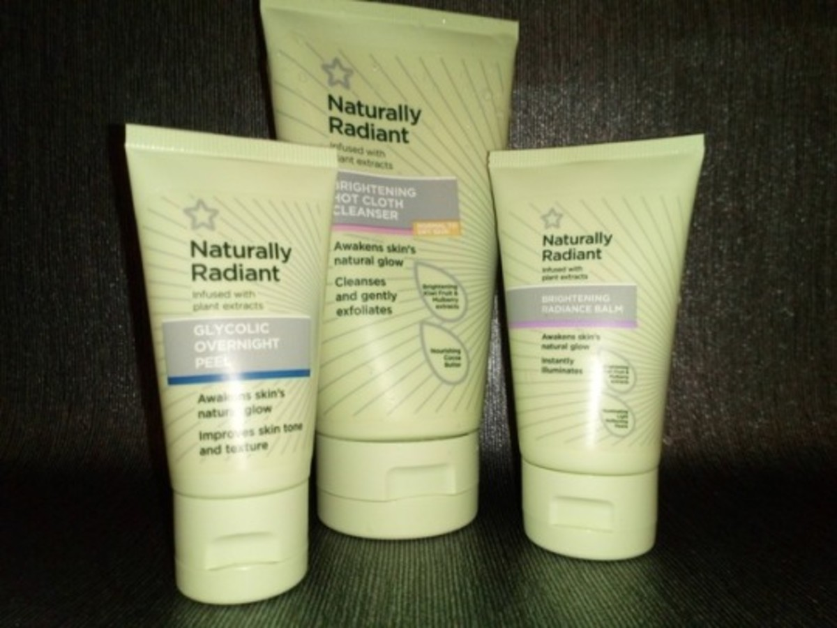 My Review of Superdrug's Naturally Radiant Range