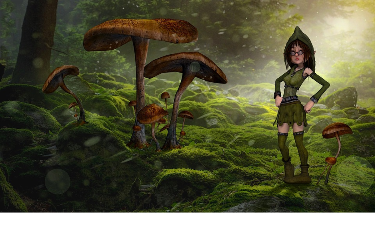 Short Magical Story: The Imp With the Jinx