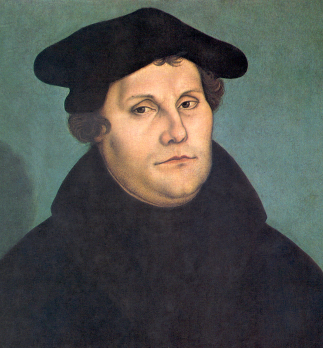 Popular portrait of Martin Luther.