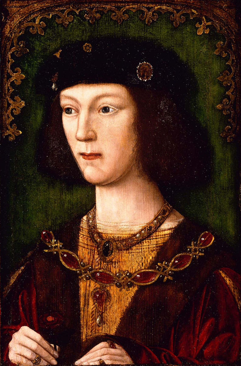 King Henry VIII as a young man