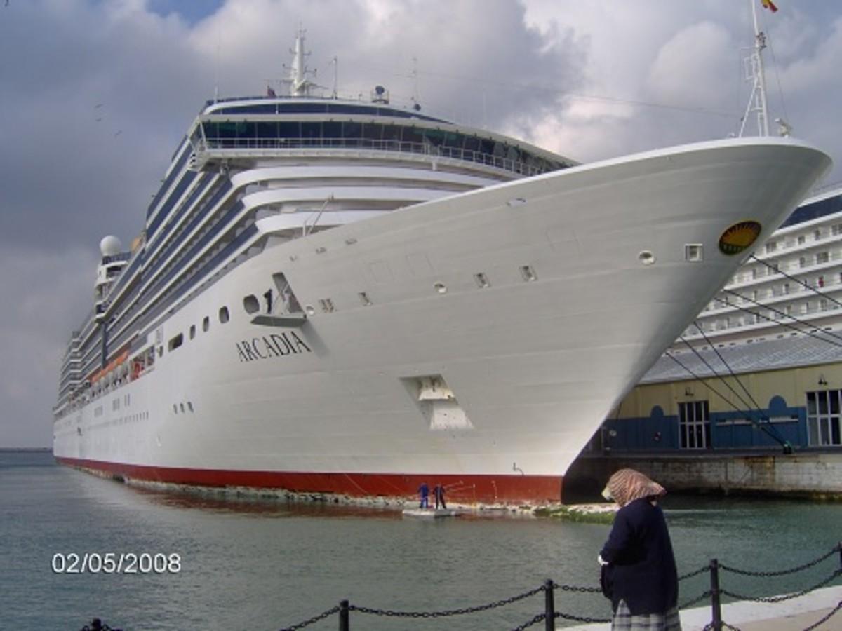 P&O Ship, Arcadia