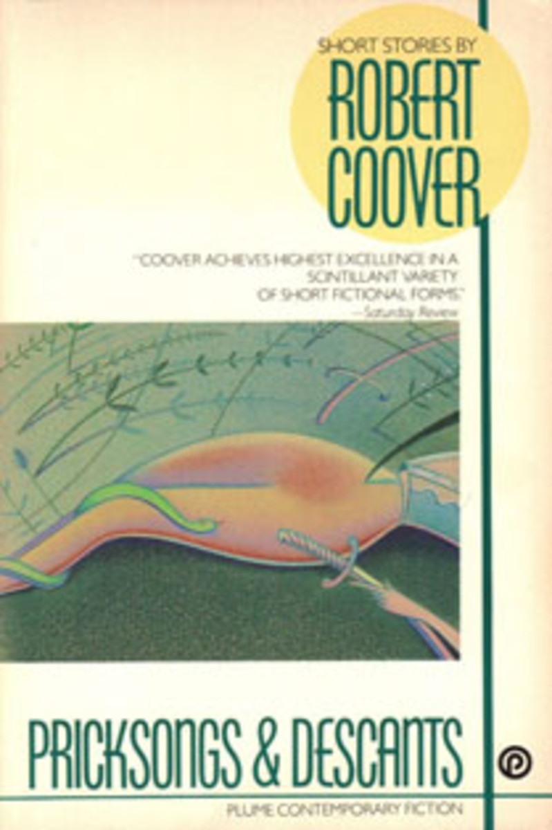 "cover of Coover's 1969 ""Pricksongs & Descants"""