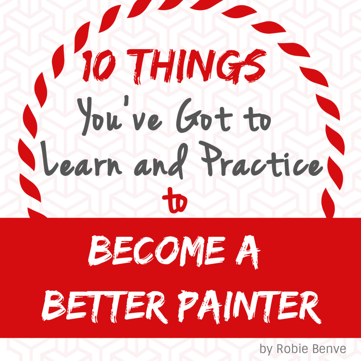 This article provides several tips that I wish someone had told me when I first started painting. Instead, I had to figure them out on my own—often the hard way. You are welcome. :)
