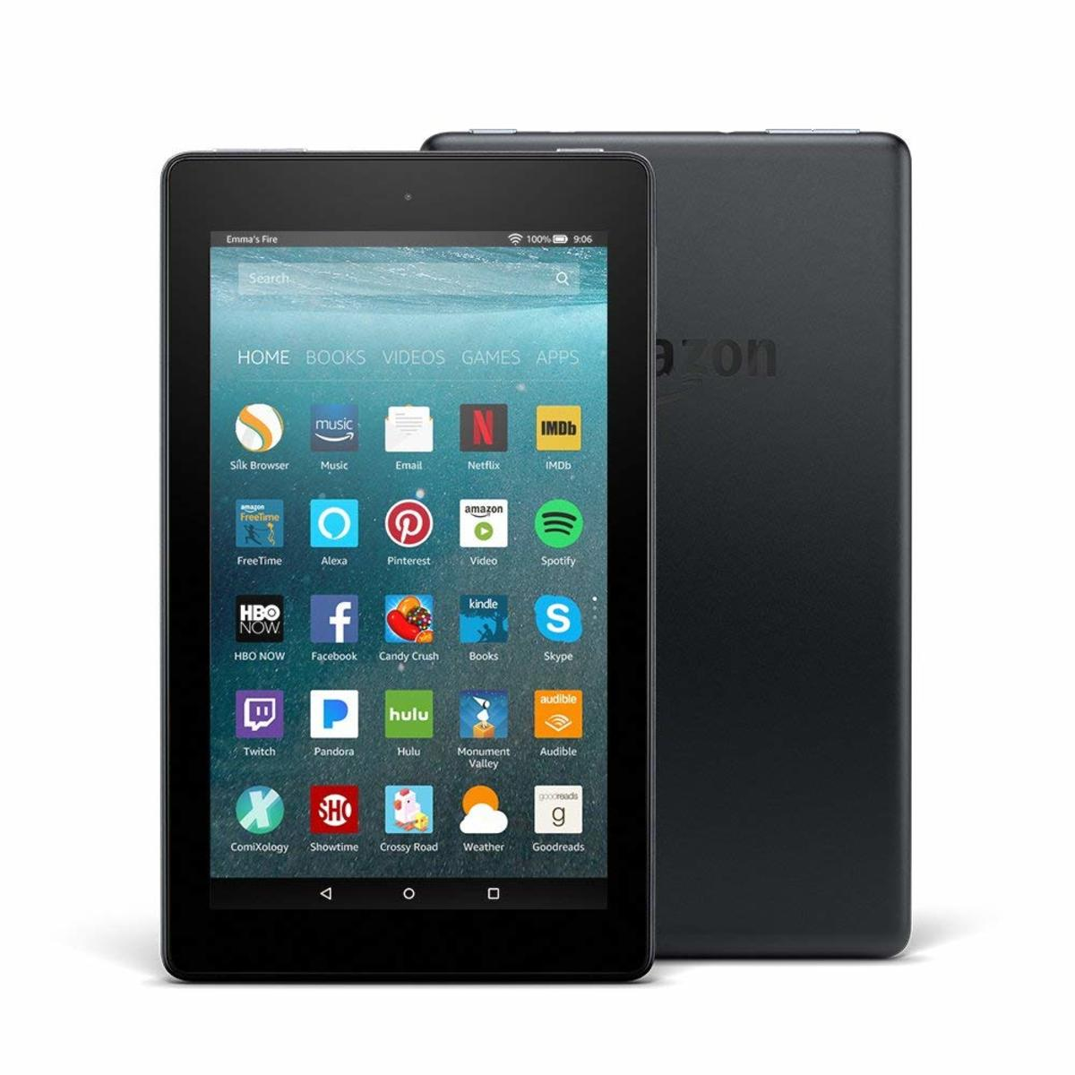 This particular Kindle Fire is $49.99. Though that can appear to be costly, they do offer monthly payments and it can be a great investment if you have a desire to read a lot of books but have no place to store said books.