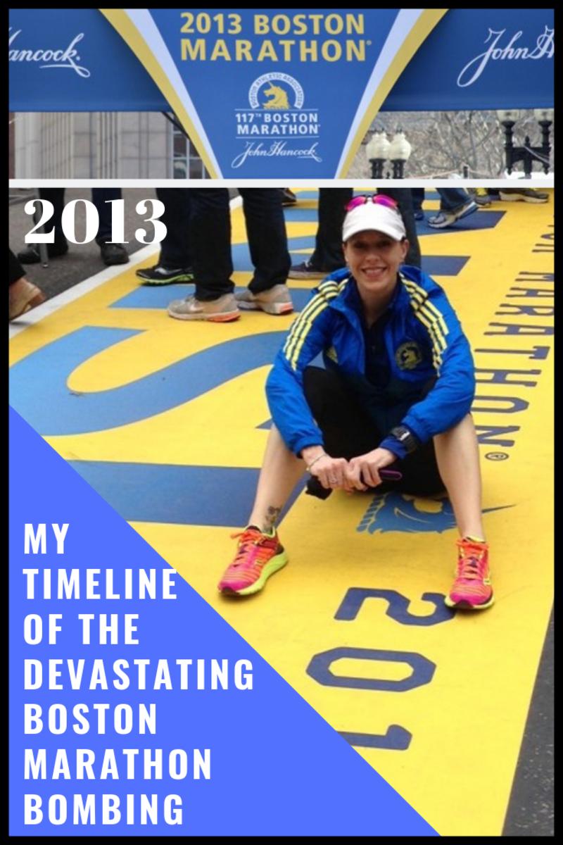 My Timeline of the Devastating 2013 Boston Marathon Bombing