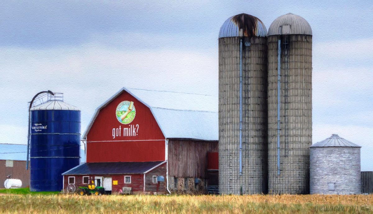 Wisconsin is the Dairy Capital of the World