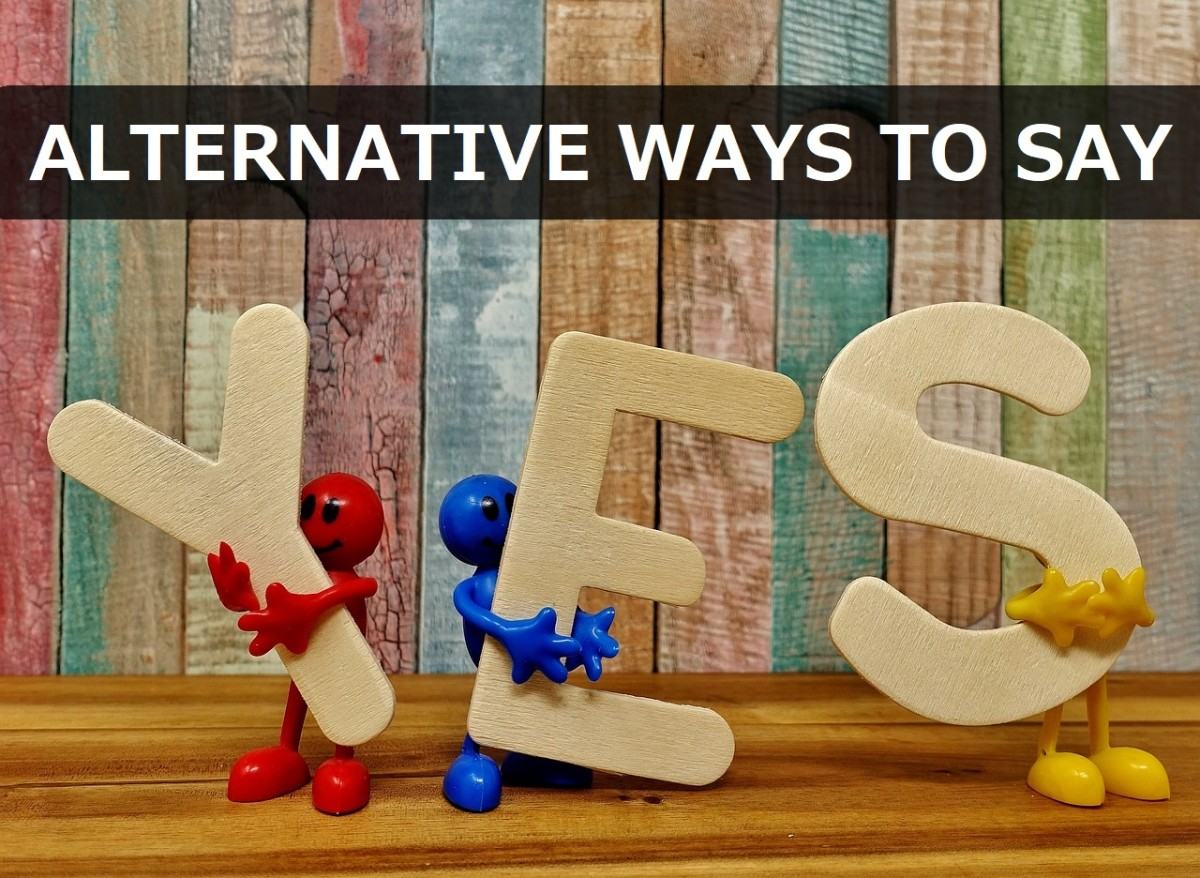 "250+ Alternative Ways to Say ""Yes"""