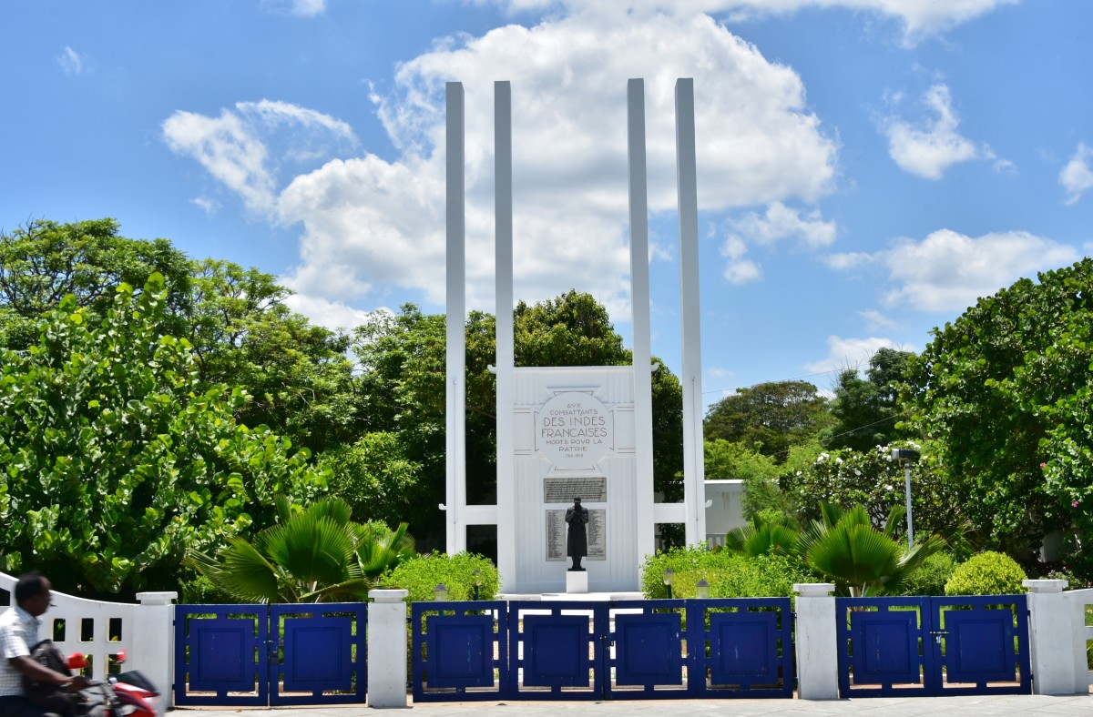 French War Memorial, Pondicherry
