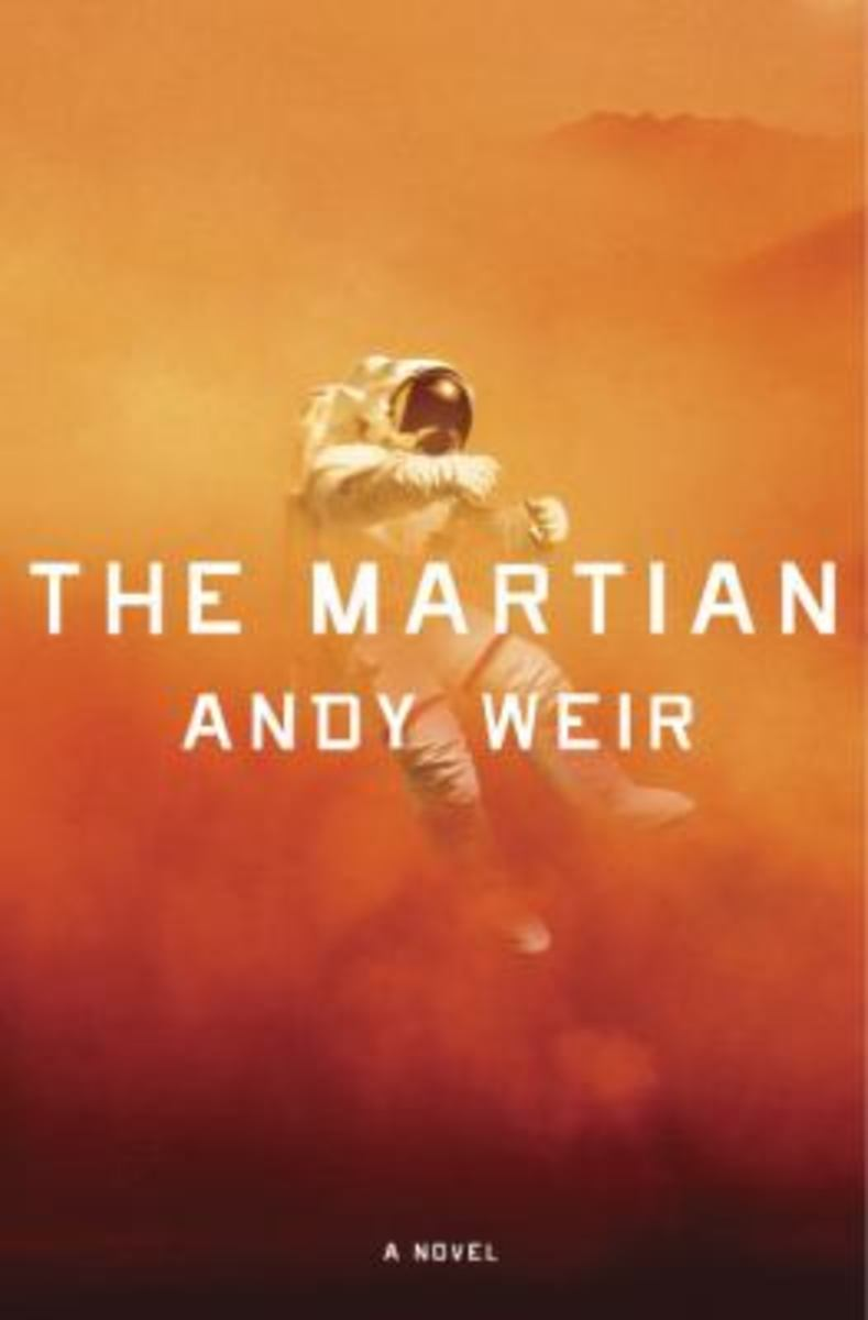 The Martian Book Review - Lunchtime Lit With Mel Carriere