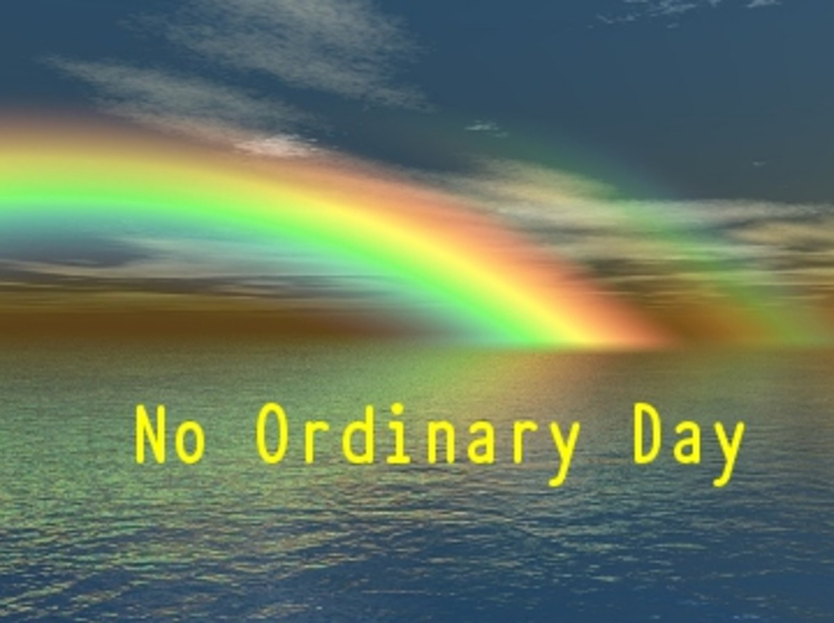 Poem: No Ordinary Day