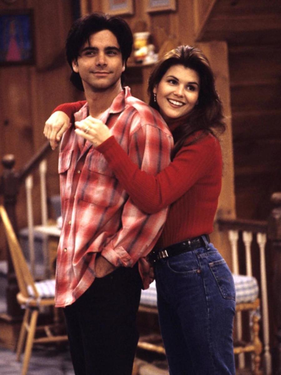 John Stamos & Lori Loughlin.