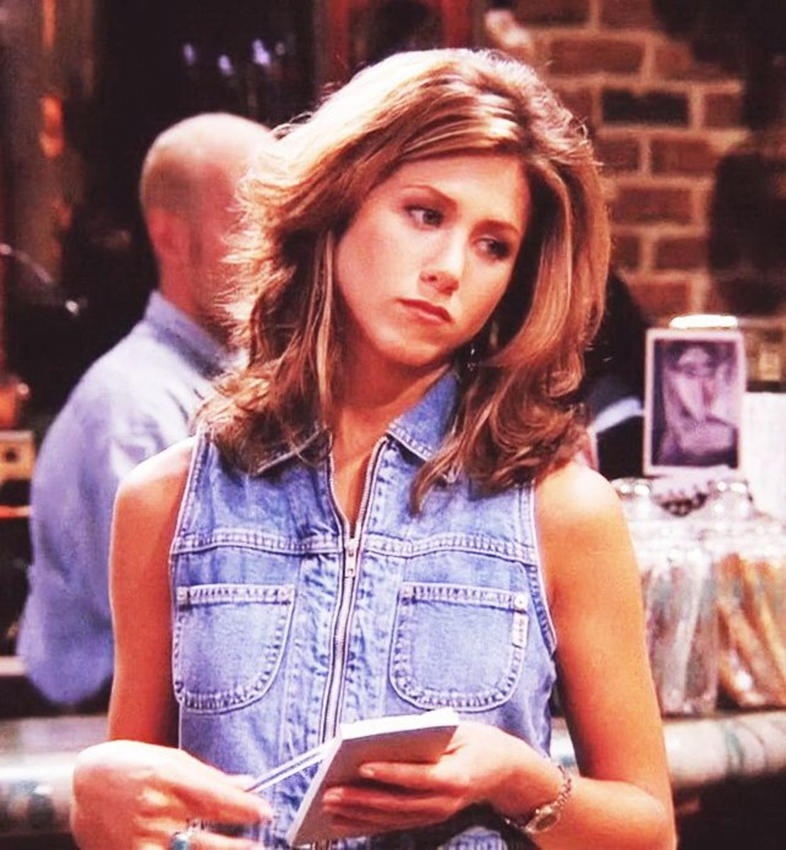 "Rachel Green's Top Ten Outfits on ""Friends"""