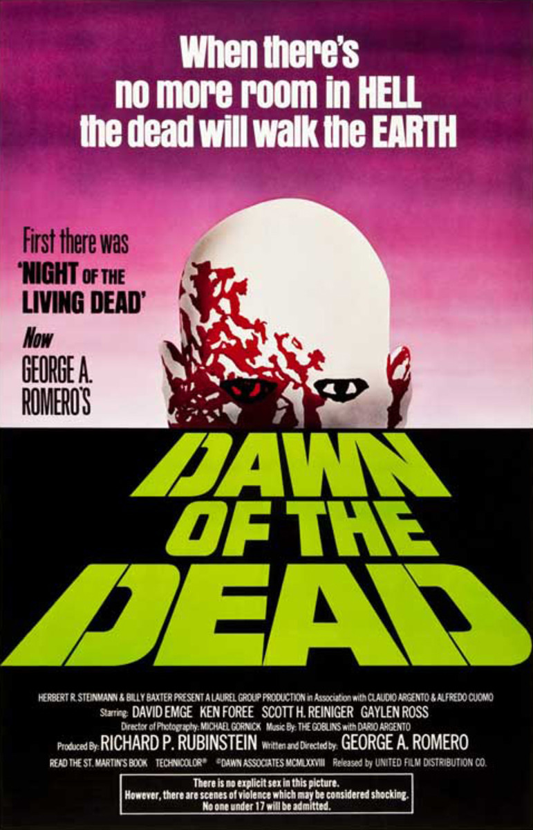 'Dawn of the Dead' (1978) Movie Review
