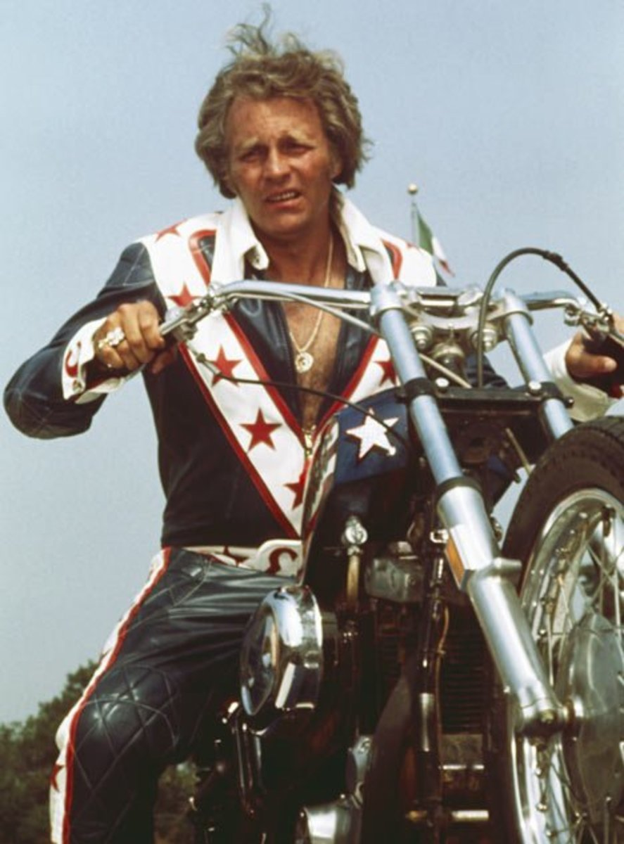 Evel Knievel: Legendary Motorcycle Daredevil